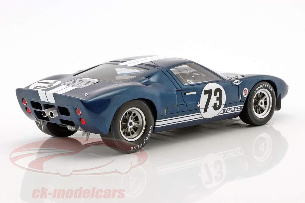 Ford GT40 #73 vencedor Daytona 2000km 1965 Miles, Ruby 1:18 Spark