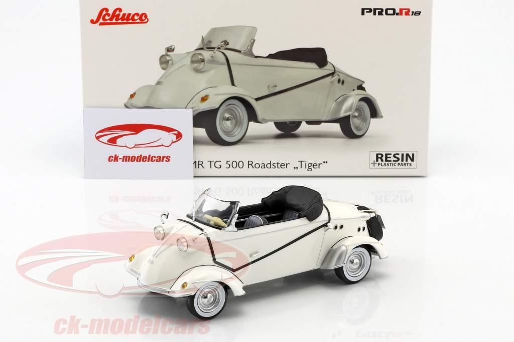 FMR TG 500 Roadster Tiger bianco 1:18 Schuco
