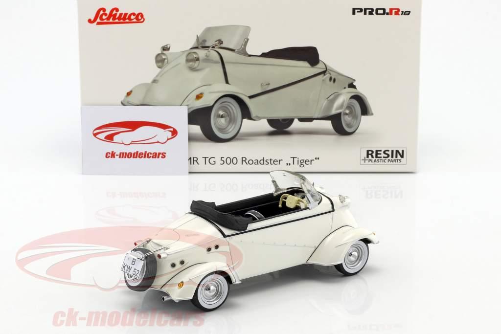 FMR TG 500 Roadster Tiger weiß 1:18 Schuco