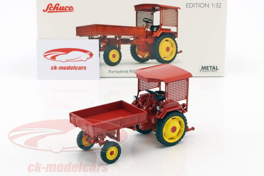 Fortschritt RS09-GT 124 tractor Pick-Up rood 1:32 Schuco
