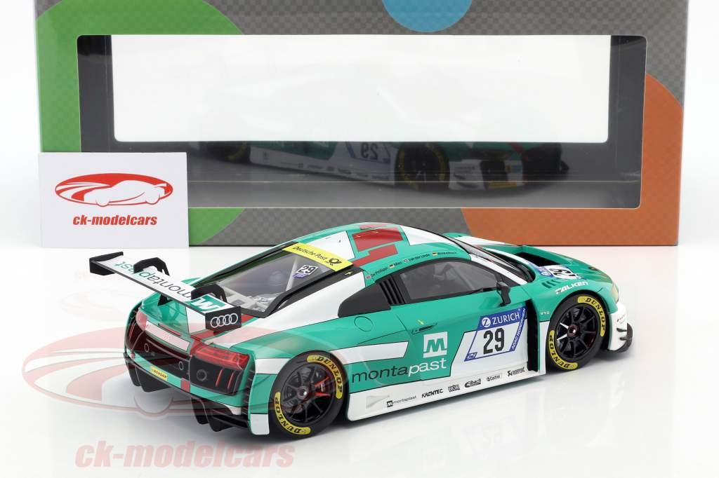 Audi R8 LMS #29 Vinder 24h Nürburgring 2017 Audi Sport Team Land 1:18 Paragon Models