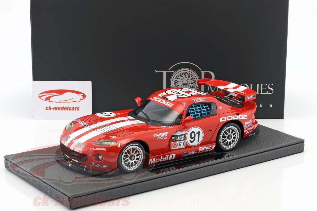 Dodge Viper GTS-R Oreca Winner 24h Daytona 2000 Dupuy, Wendlinger, Beretta 1:18 TopMarques