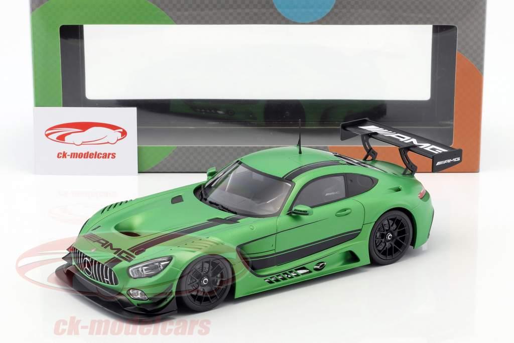 Mercedes-Benz AMG GT3 2015 green metallic 1:18 Paragon Models