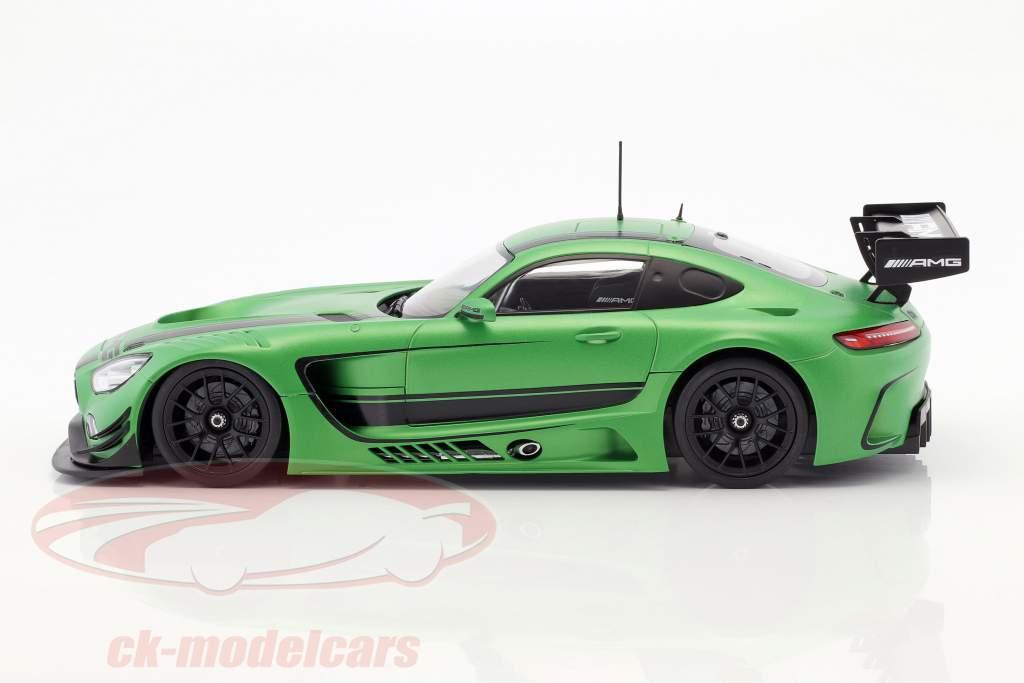 Mercedes-Benz AMG GT3 2015 groen metalen 1:18 Paragon Models