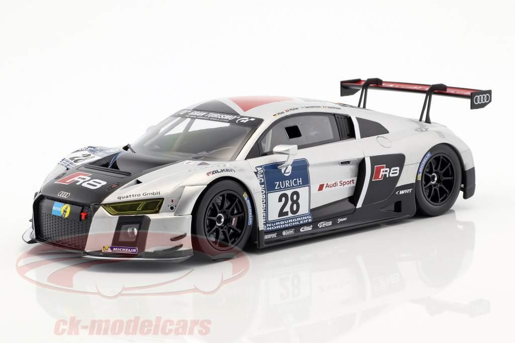Audi R8 LMS Ultra #28 vencedor 24h Nürburgring 2015 Audi Sport Team WRT 1:18 Paragon Models
