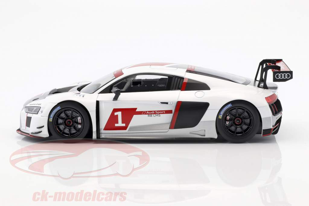 Audi R8 LMS #1 Presentation Car 2016 warpaint 1:18 Paragon Models