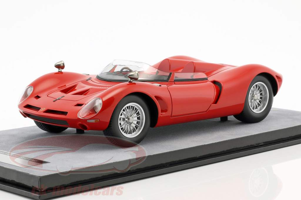 Bizzarrini P538 spyder Press Version 1965 rosso corsa 1:18 Tecnomodel