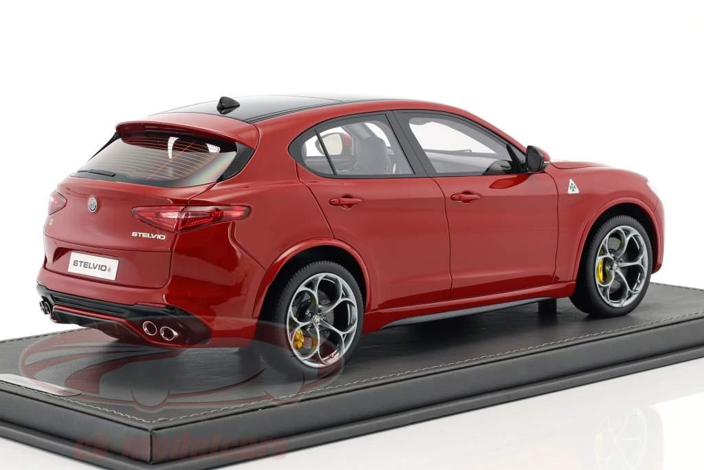 Alfa Romeo Stelvio Quadrifoglio anno di costruzione 2016 Alfa rosso 1:18 BBR