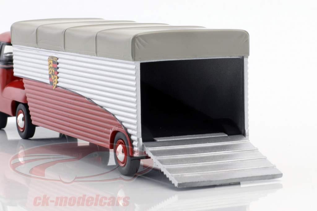 Volkswagen VW T1b Renntransporter Continental Motors rot 1:43 Schuco