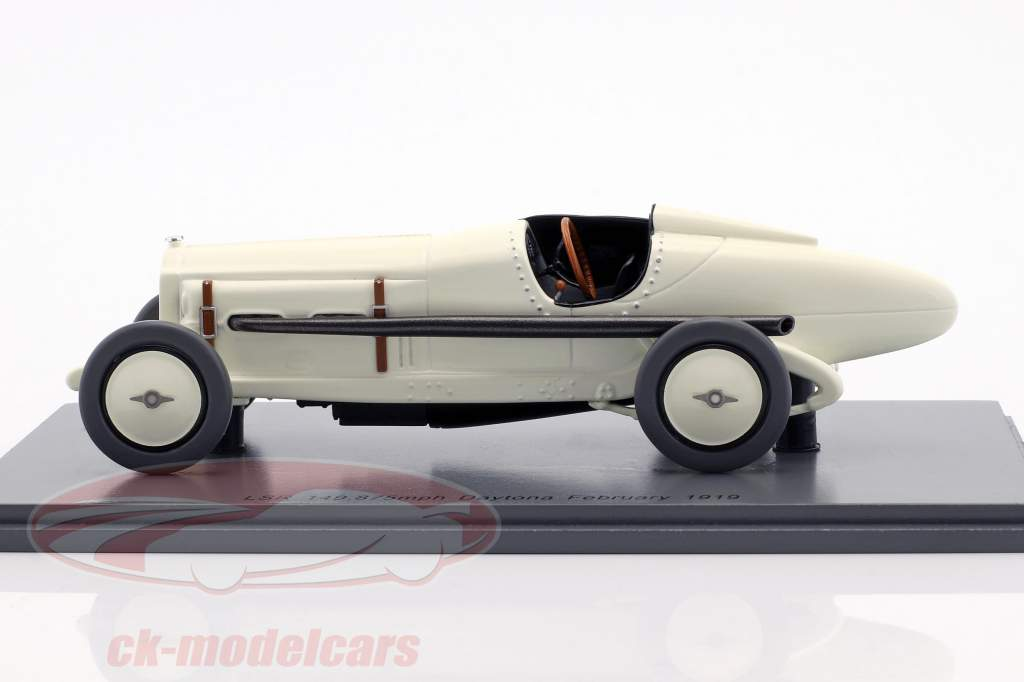 Packard 905 LSR 149.875mph Daytona Beach Florida febbraio 1919 Ralph de Palma 1:43 Spark