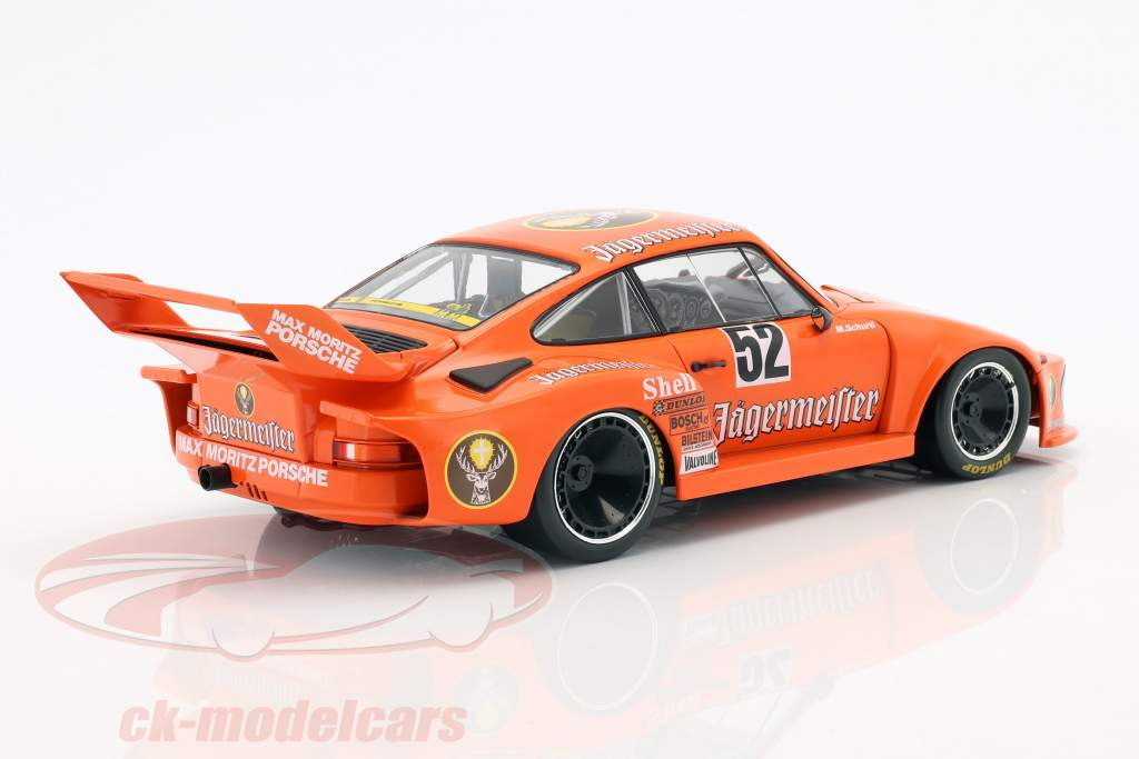Porsche 935 #52 winnaar Bergischer Löwe Zolder DRM 1977 Manfred Schurti 1:18 Norev