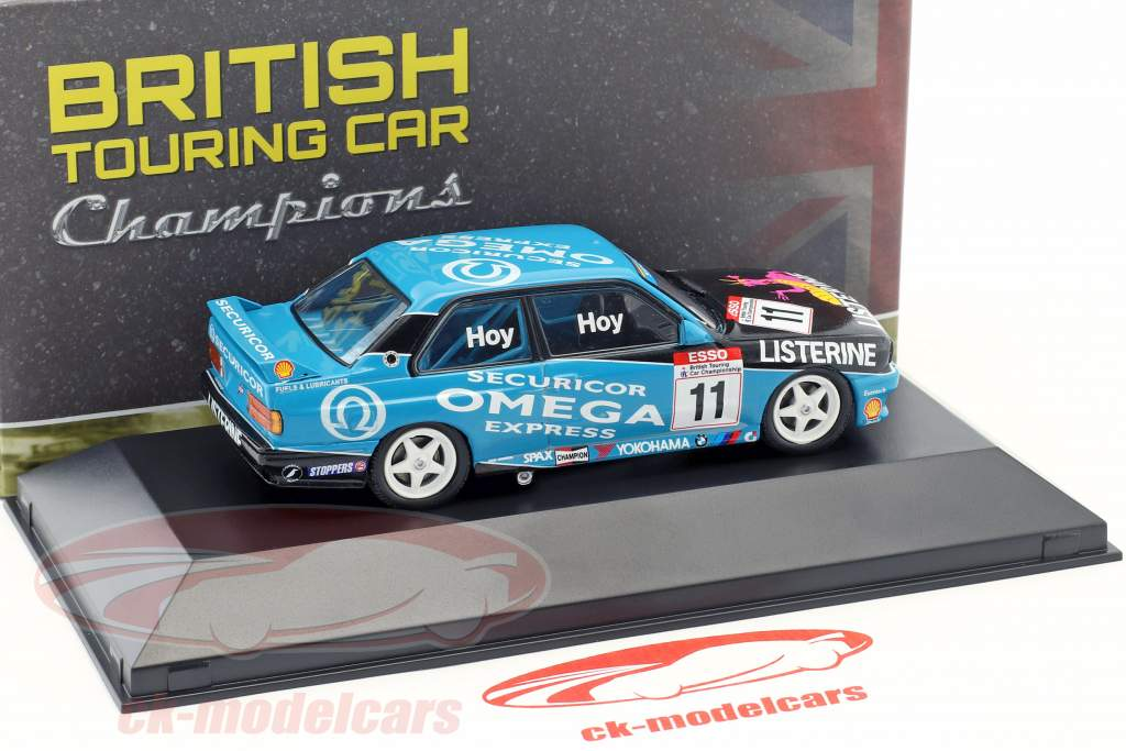 Will Hoy BMW M3 (E30) #11 BTCC mester 1991 1:43 Atlas