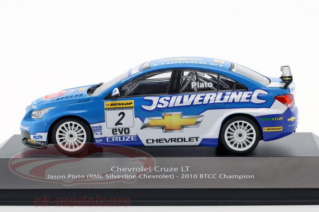 Jason Plato Chevrolet Cruze LT #2 BTCC campeón 2010 1:43 Atlas