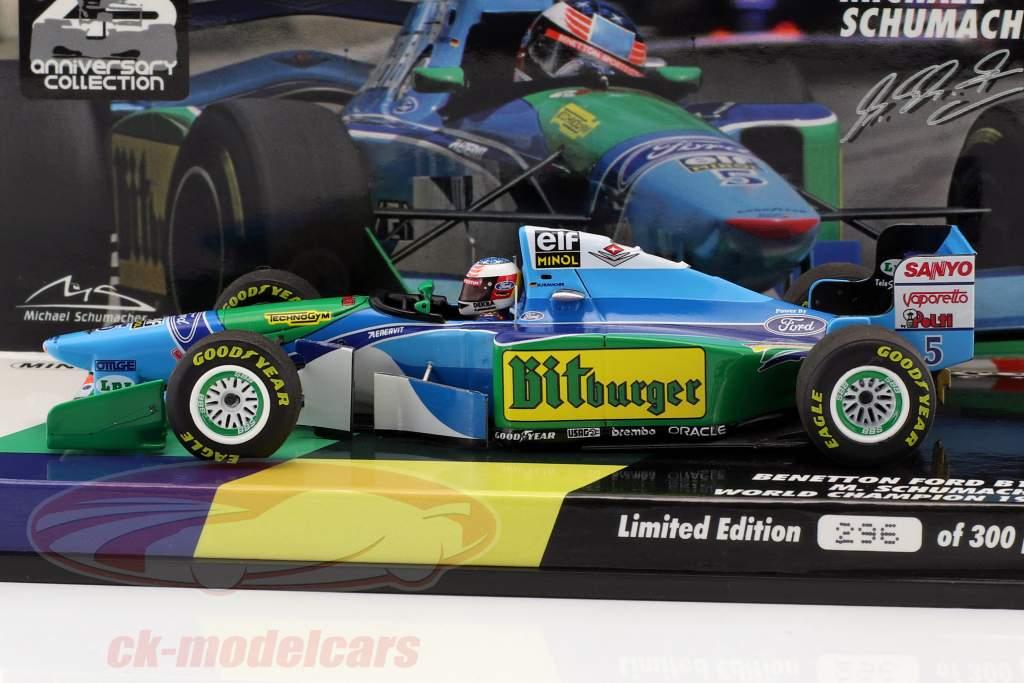 Michael Schumacher Benetton B194 5 World Champion Formula 1 1994 143 Minichamps