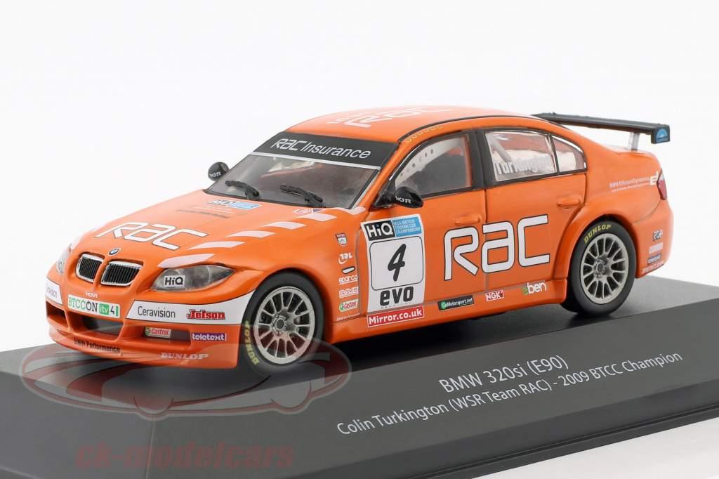 Colin Turkington BMW 320si (E90) #4 BTCC campeão 2009 1:43 Atlas
