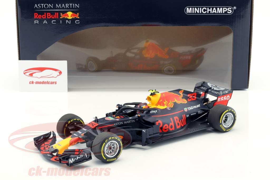 Minichamps 1 18 Max Verstappen Red Bull Racing Rb14 33 Australie Gp