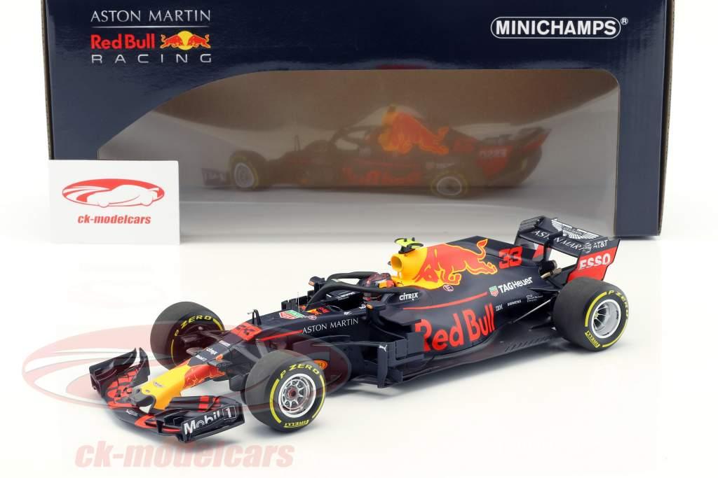 Max Verstappen Red Bull Racing Rb14 33 Australie Gp Formule 1 2018 1 18 Minichamps