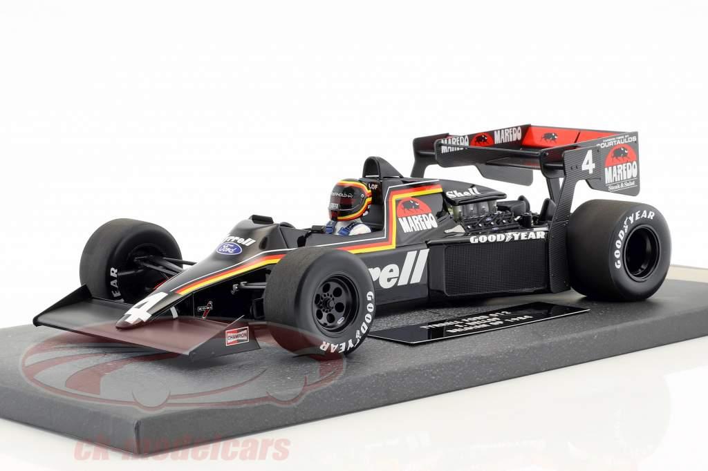 Stefan Bellof Tyrrell Ford 012 #4 Belgian GP formula 1 1984 1:18 Minichamps