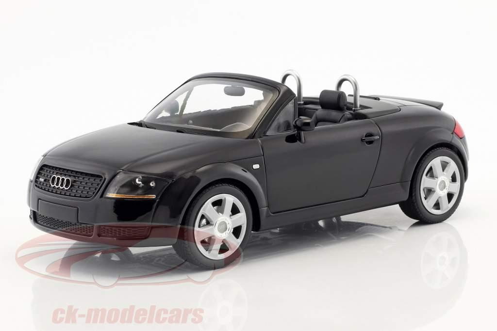 Minichamps 118 Audi Tt Roadster Year 1999 Black 155017030 Model Car
