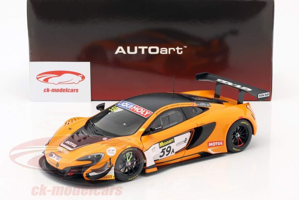 McLaren 650S GT3 #59 gagnant 12h Bathurst 2016 van Gisbergen, Parente, Webb 1:18 AUTOart