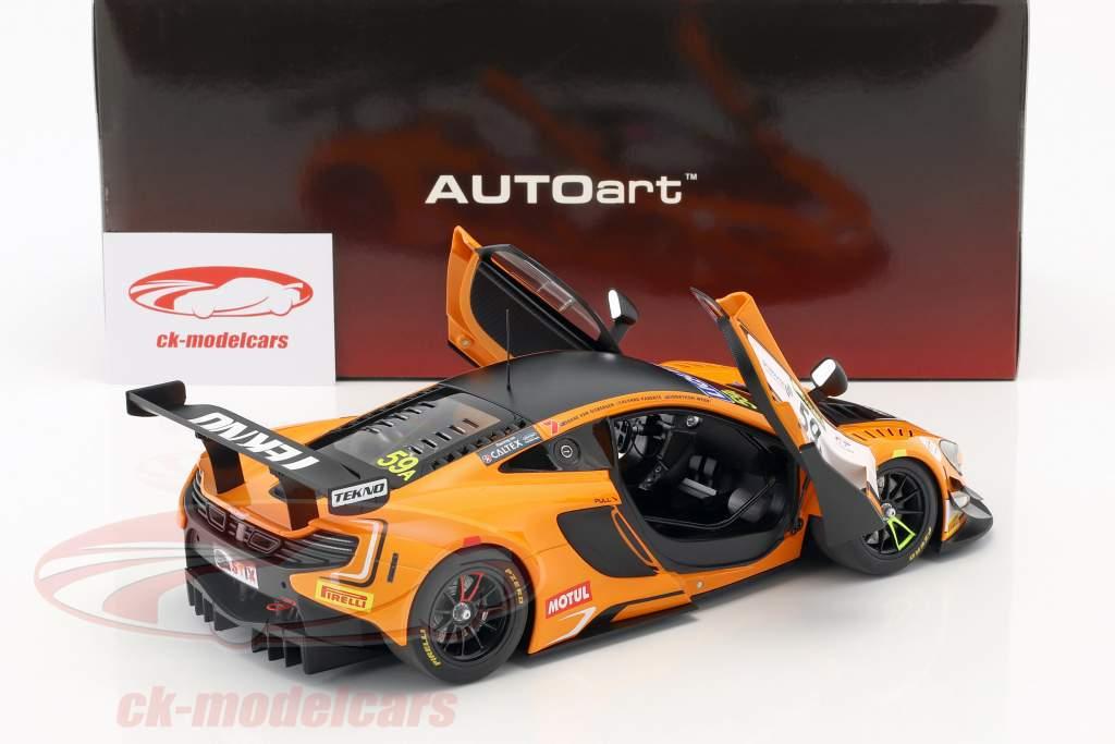 McLaren 650S GT3 #59 vencedor 12h Bathurst 2016 van Gisbergen, Parente, Webb 1:18 AUTOart