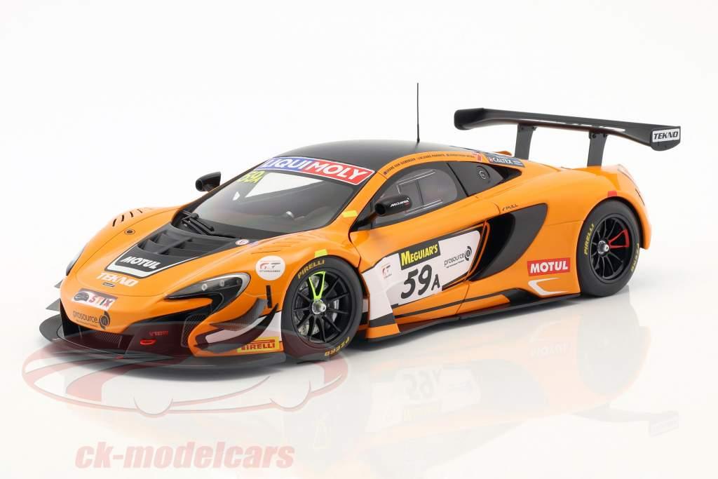 McLaren 650S GT3 #59 Winner 12h Bathurst 2016 van Gisbergen, Parente, Webb 1:18 AUTOart