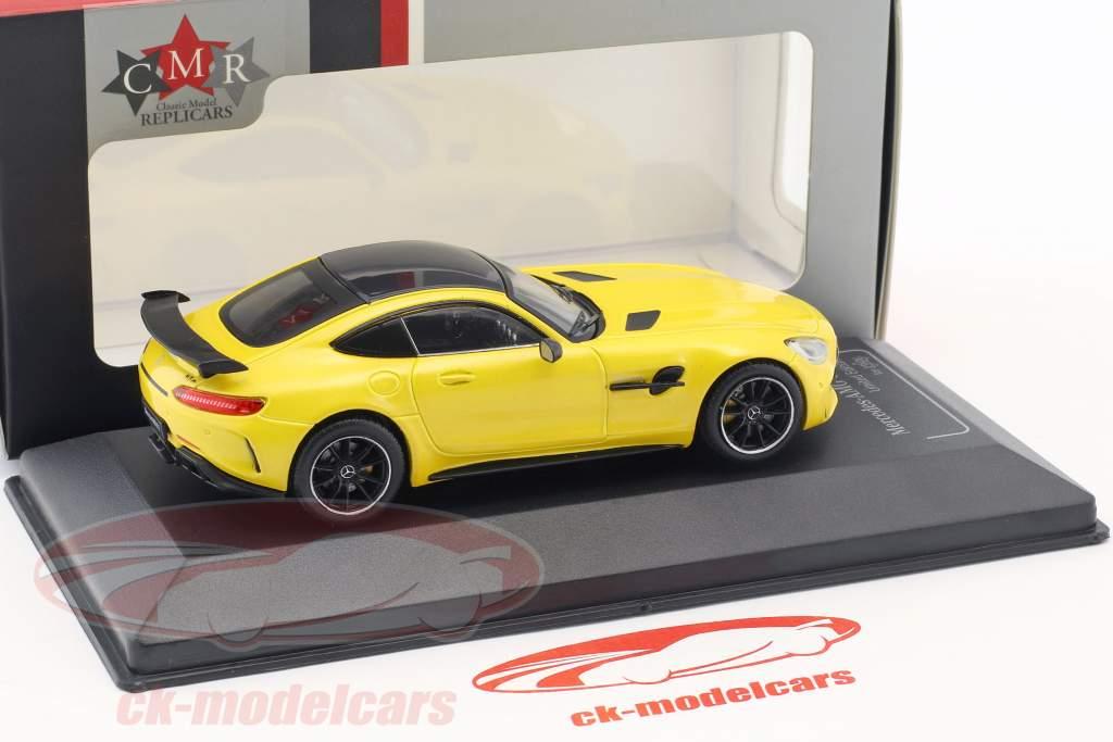 Mercedes-Benz AMG GT-R solarbeam geel 1:43 CMR
