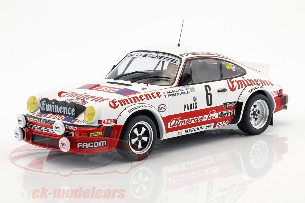Porsche 911 SC  RALLYE MONTE CARLO 1982 WALDEGARD 1//18  ixo