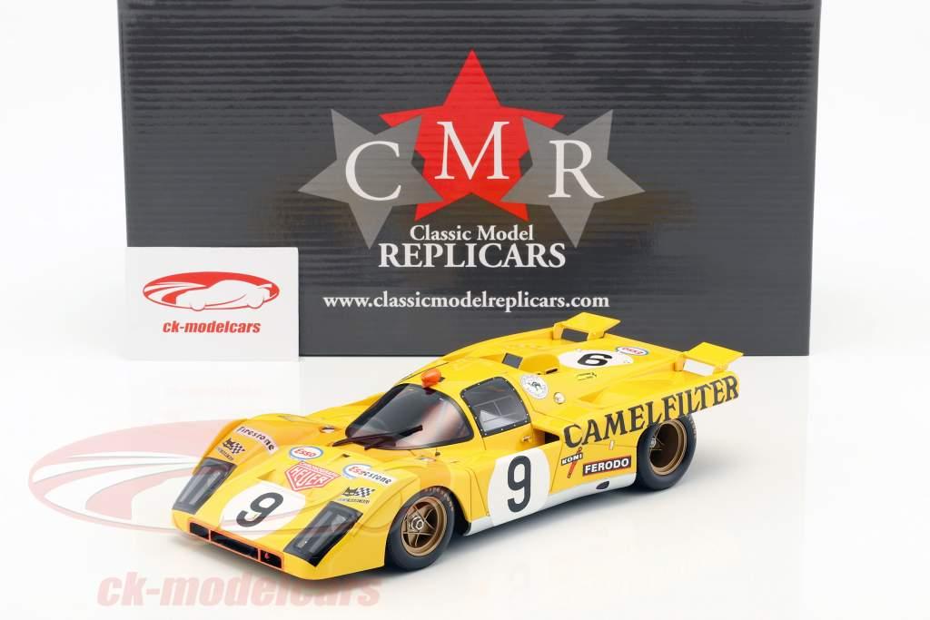Ferrari 512 M #9 24h LeMans 1971 de Fierlant, de Cadenet 1:18 CMR