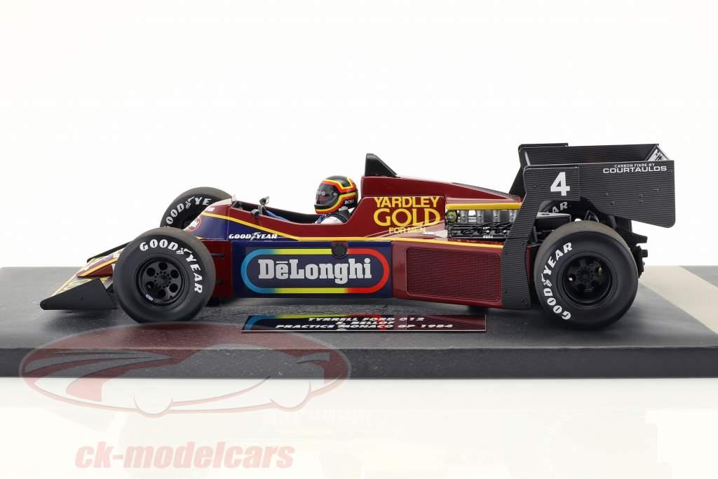 Stefan Bellof Tyrrell 012 #4 Practice Monaco GP Formel 1 1984 1:18 Minichamps