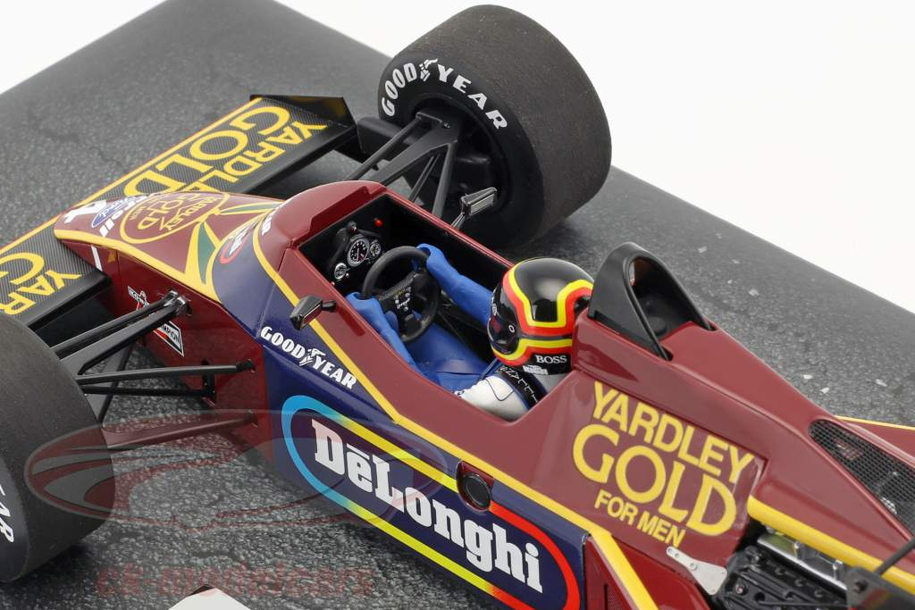 Stefan Bellof Tyrrell 012 #4 pratique Monaco GP formule 1 1984 1:18 Minichamps