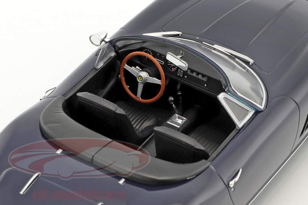 Ferrari 275 GTS/4 NART Spyder mit Alufelgen Baujahr 1967 dunkelblau 1:18 KK-Scale