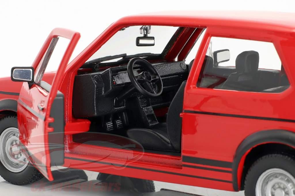 Volkswagen VW Golf Mk1 GTI año de construcción 1979 rojo 1:24 Bburago