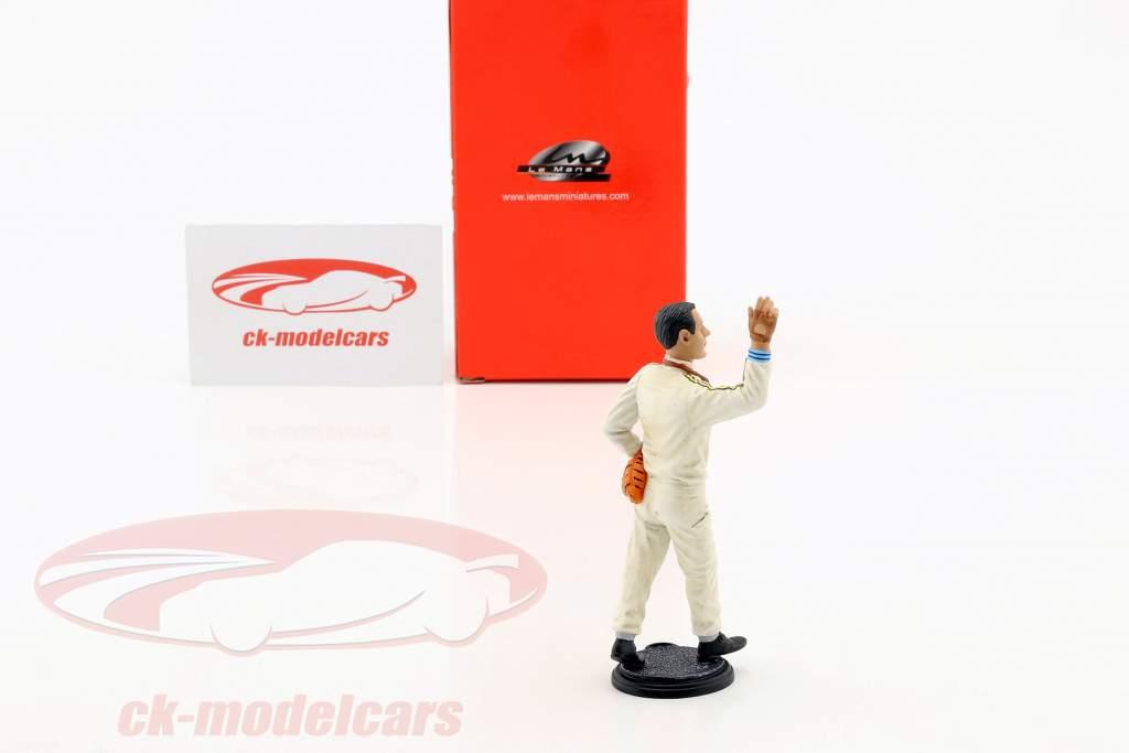 Jack Brabham ganador Francia GP campeón del mundo fórmula 1 1966 conductor figura 1:18 LeMansMiniatures