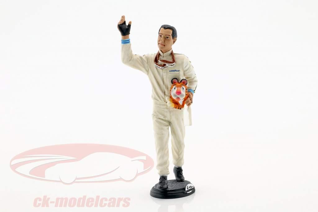 Jack Brabham Winner Frankreich GP World Champion Formel 1 1966 Fahrerfigur 1:18 LeMansMiniatures
