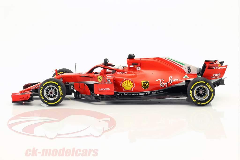 Sebastian Vettel Ferrari SF71H #5 winnaar Australisch GP formule 1 2018 1:18 BBR