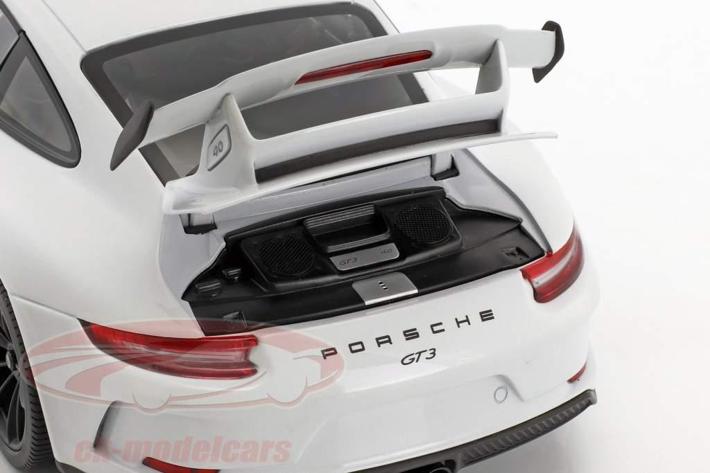 Porsche 911 (991 II) GT3 année de construction 2017 Carrare blanc métallique 1:18 Minichamps