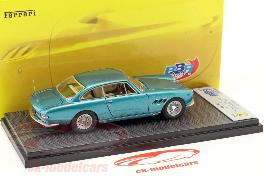 Ferrari 330 GT 2 2 S/N 7161 GT Personal Car Enzo Ferrari year 1965 azul metallic 1:43 BBR