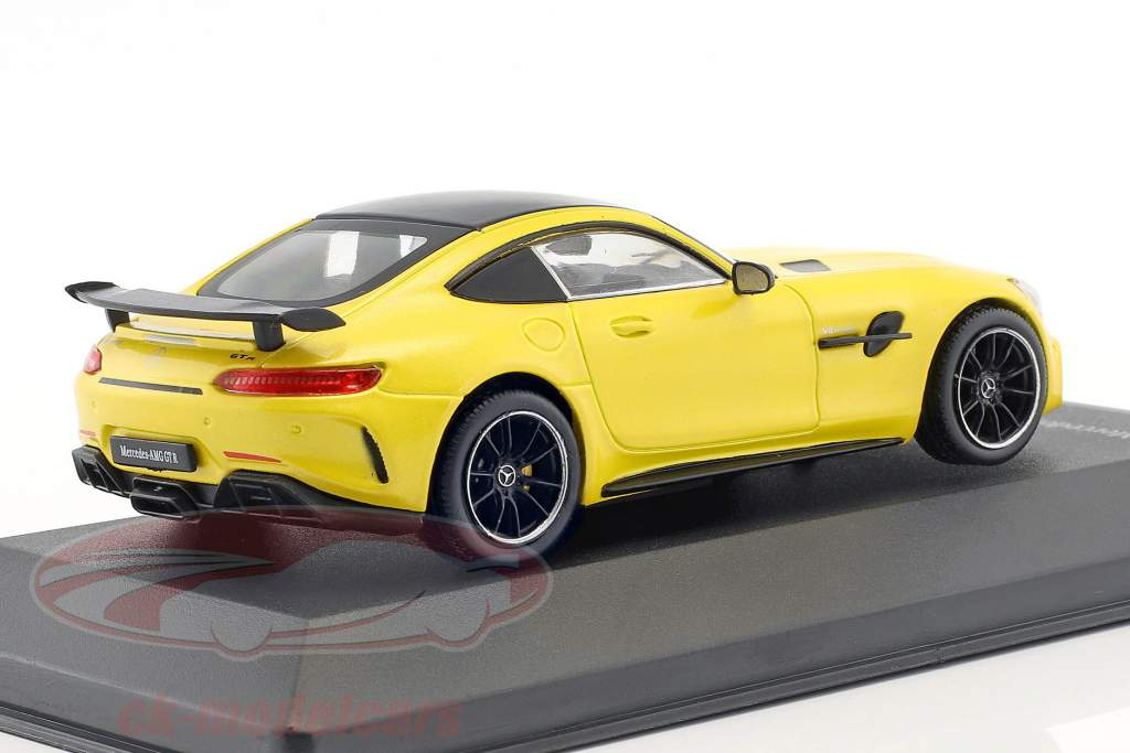 Mercedes-Benz AMG GT-R solarbeam giallo 1:43 CMR