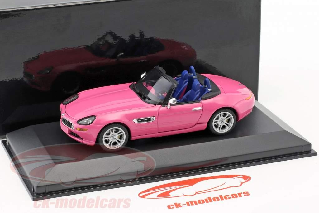 BMW Z8 rose 1:43 Minichamps / faux suremballage