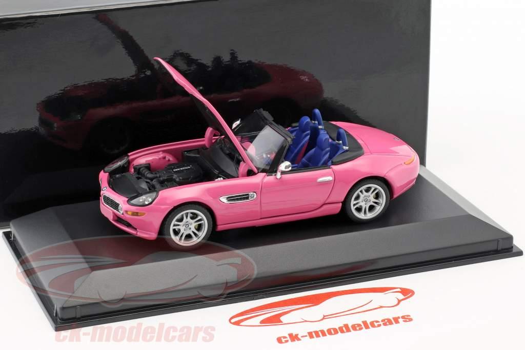 BMW Z8 rosa 1:43 Minichamps / falso sovrimballaggio