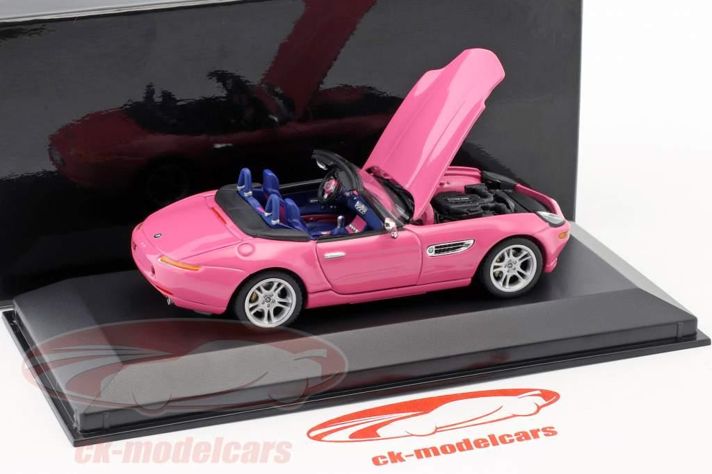 BMW Z8 -de-rosa 1:43 Minichamps / falso overpack