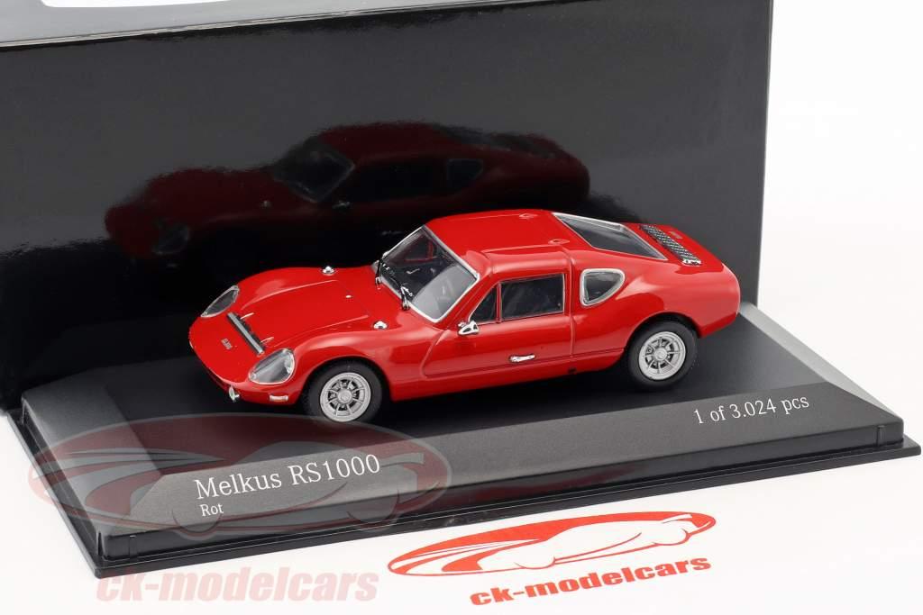 Melkus RS1000 année de construction 1969–1973 rouge 1:43 Minichamps / faux suremballage