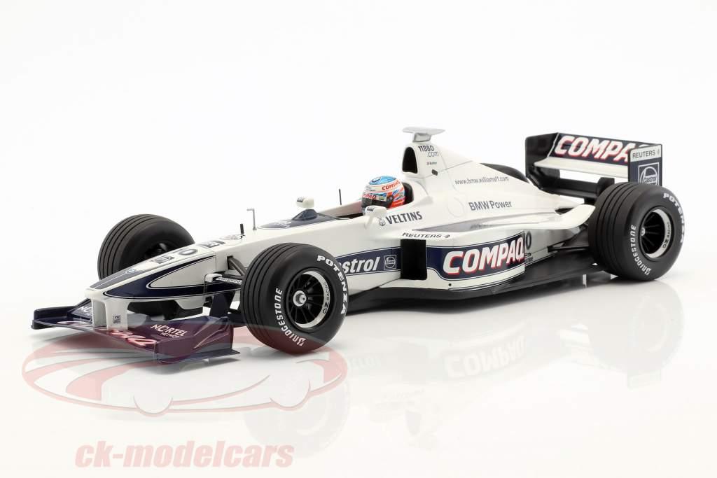 Jenson Button Williams FW22 #10 Showcar formule 1 2000 1:18 Minichamps