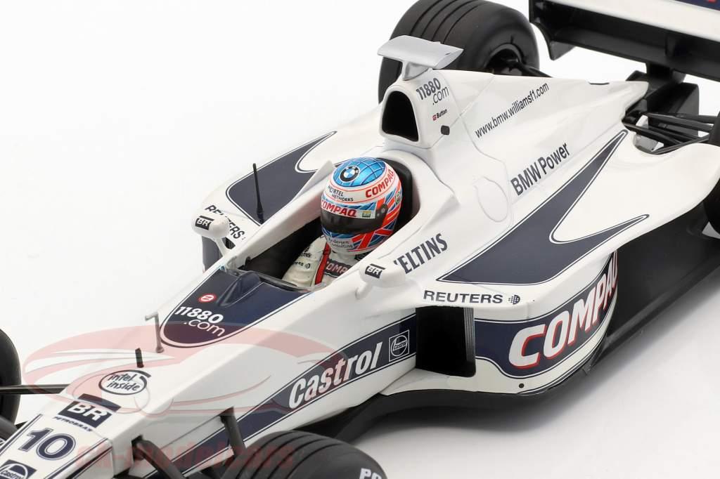 Jenson Button Williams FW22 #10 Showcar formula 1 2000 1:18 Minichamps