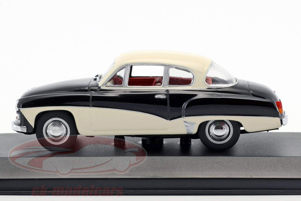 Wartburg 311 year 1955-1965 black / white 1:43 Minichamps / false overpack