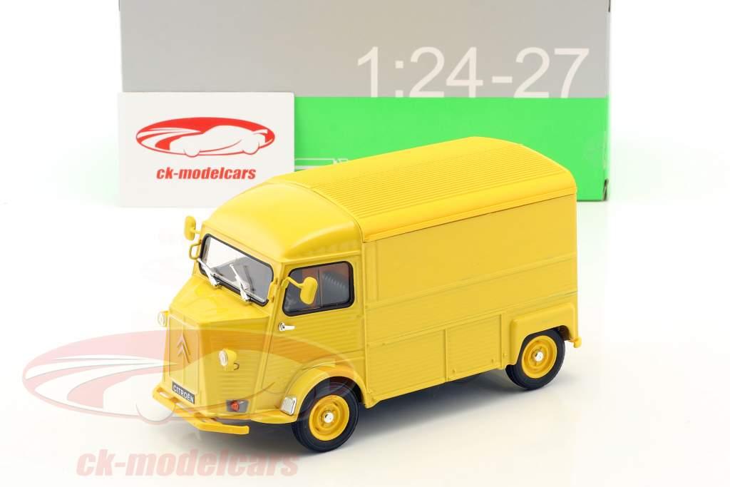 Citroen HY Citroen Service Opførselsår 1962 gul 1:24 Welly