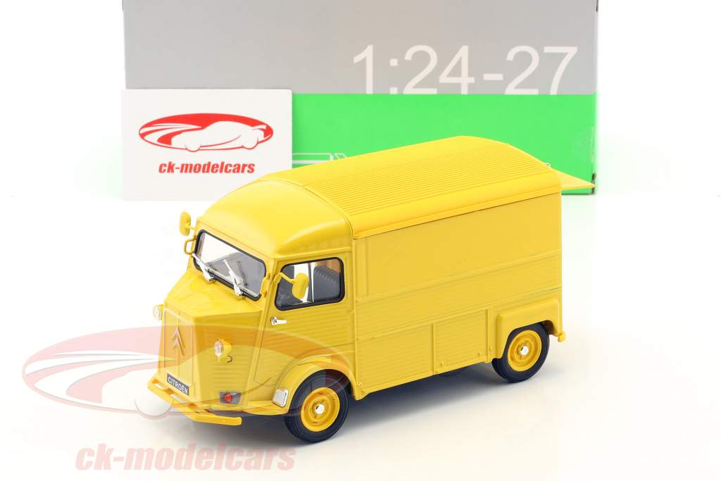 Citroen HY Citroen Service année de construction 1962 jaune 1:24 Welly