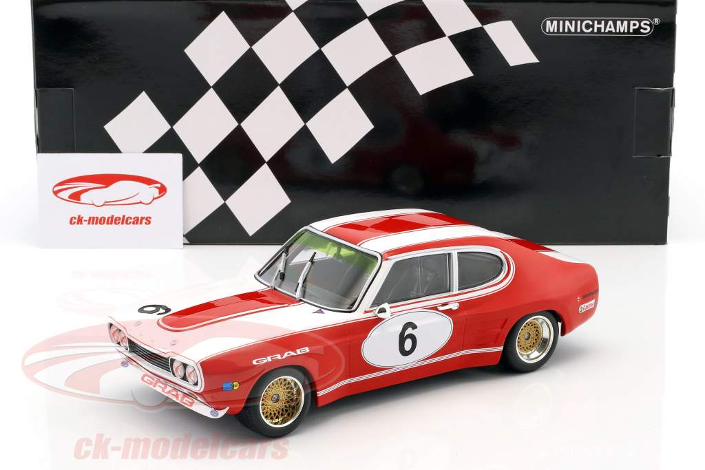 Ford RS 2600 #6 quinto 6h Nürburgring 1973 Weiss, Ludwig 1:18 Minichamps