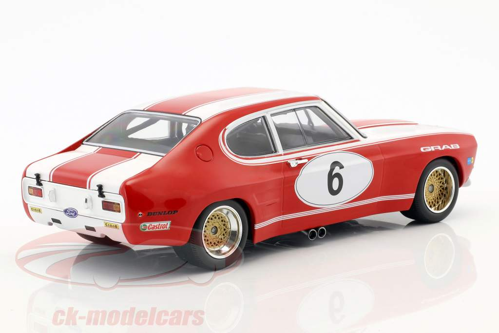 Ford RS 2600 #6 5. 6h Nürburgring 1973 Weiss, Ludwig 1:18 Minichamps